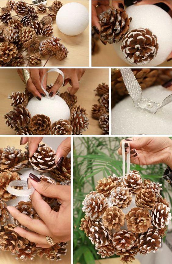 decoracao de natal com materiais naturais 12
