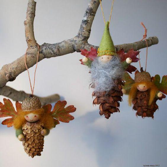 decoracao de natal com materiais naturais 3