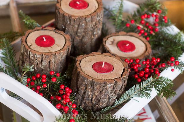decoracao de natal com materiais naturais 6