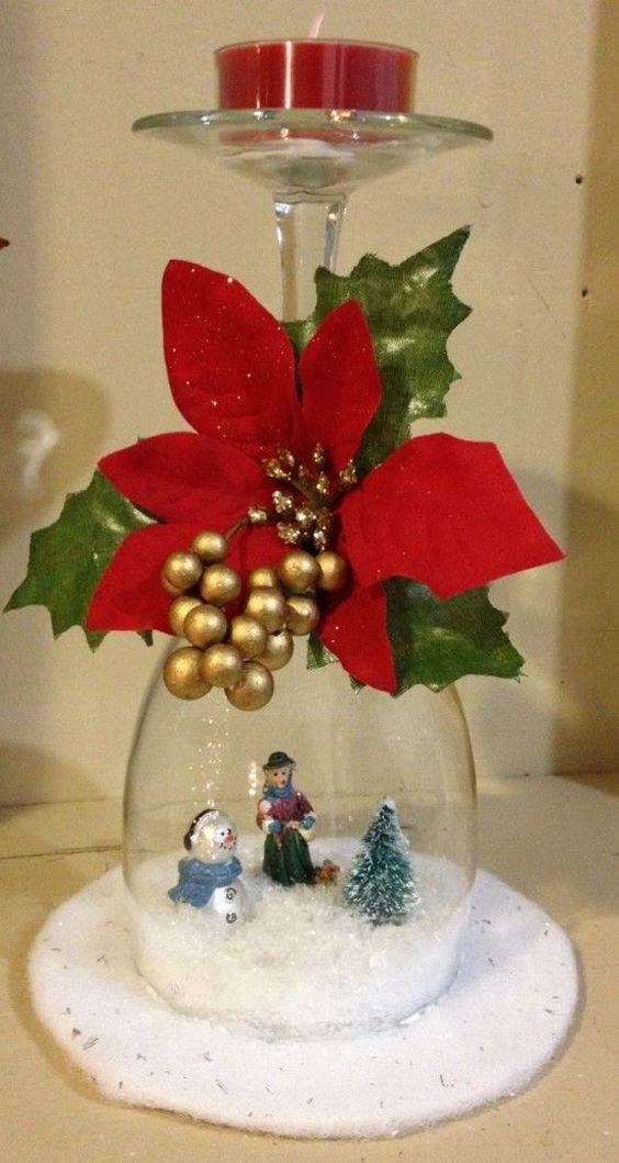 decoracao de natal reciclagem copo