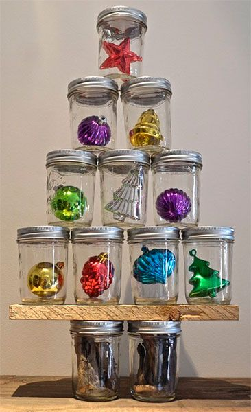 decoracao de natal reciclagem frascos 2