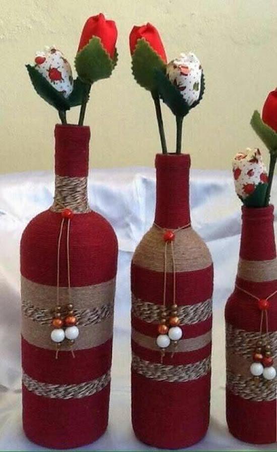 decoracao de natal reciclagem garrafas