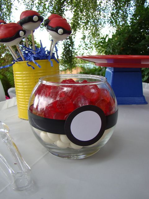 decoracao festa dos pokemons 3