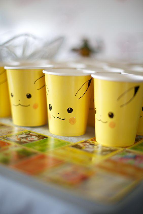 decoracao festa dos pokemons