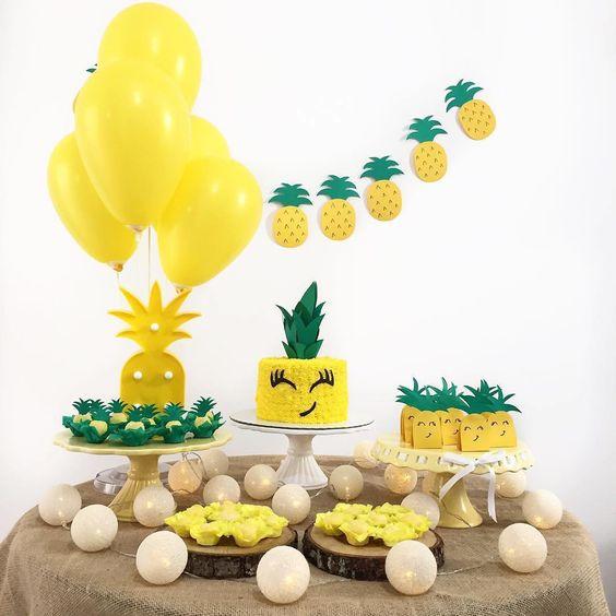 decoracao festa fruta