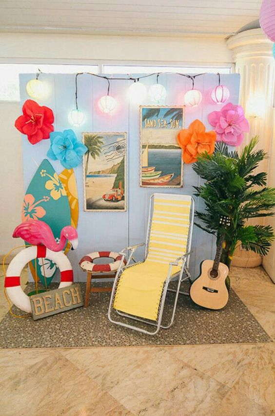 decoracao festa havaiana ideias 2