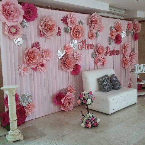 decoracao flores gigantes papel 6