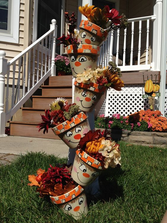 decoracao jardim vasos 9