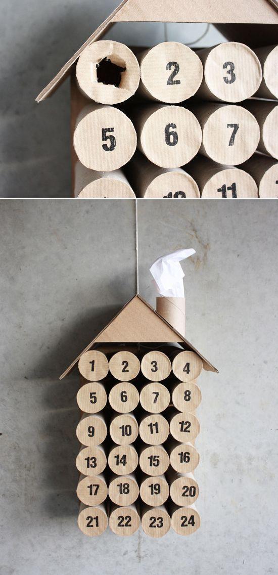 decoracao-natal-diy-rolos-papel-5