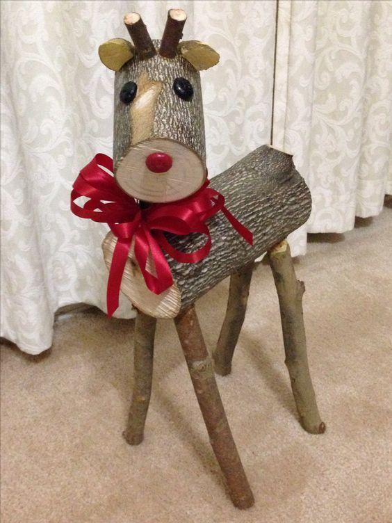 decoracao natal madeira 2