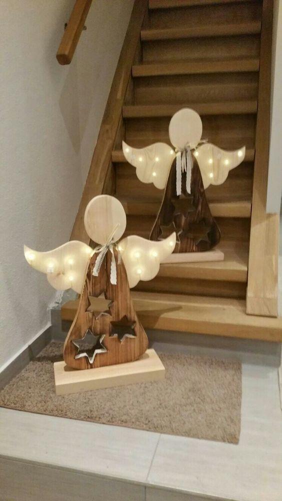 decoracao natal madeira 7