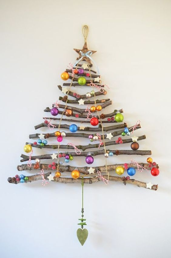 decoracao natal madeira