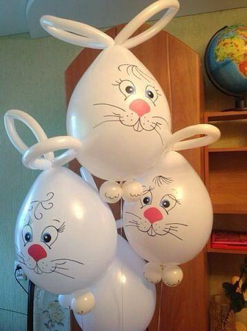 decoracao pascoa baloes 4