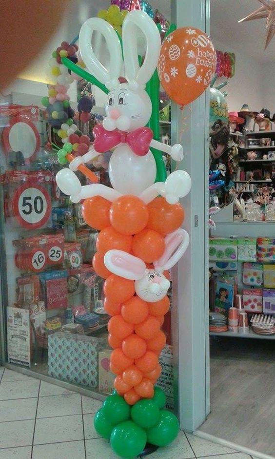 decoracao pascoa baloes 6
