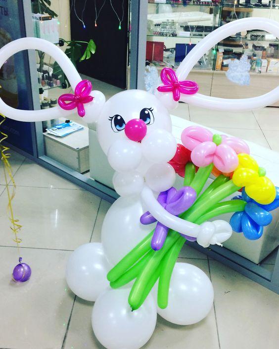 decoracao pascoa baloes 7