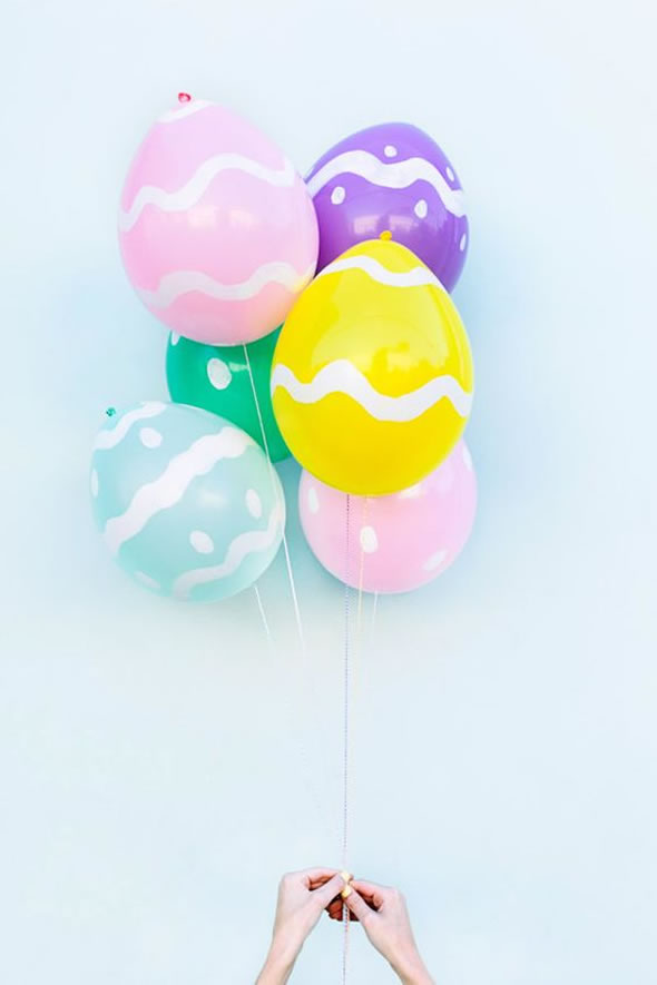 decoracao pascoa baloes 8