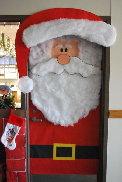 decoracao porta natal