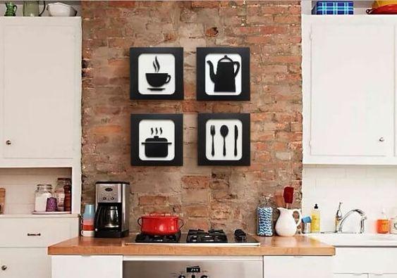 decoracao quadros cozinha