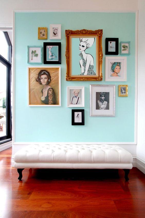decoracao quadros hall