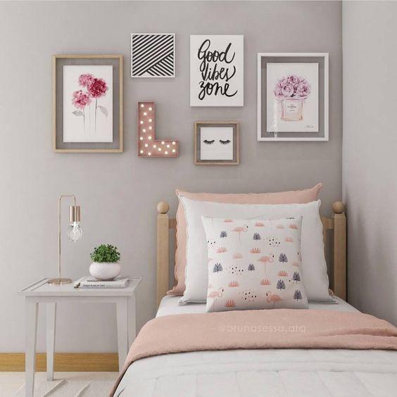 decoracao quadros quarto