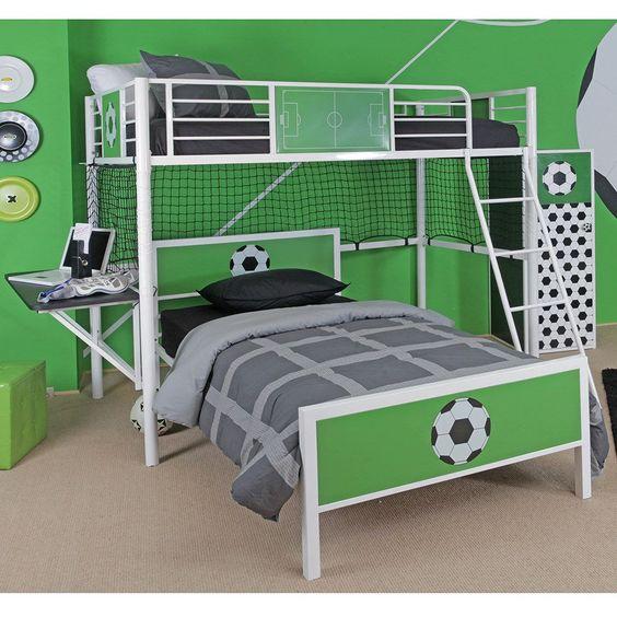 decoracao quarto infantil futebol 10