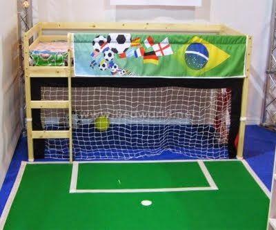 decoracao quarto infantil futebol 11