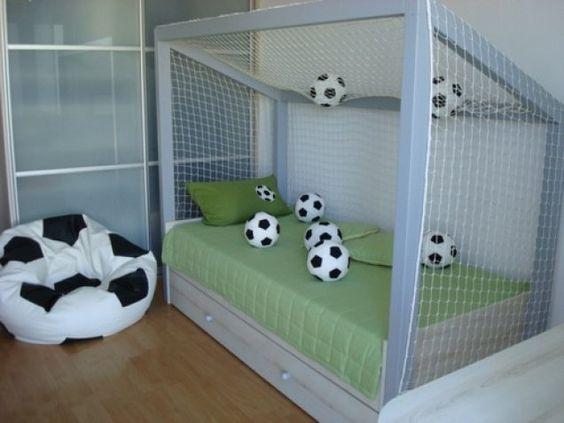 decoracao quarto infantil futebol 2