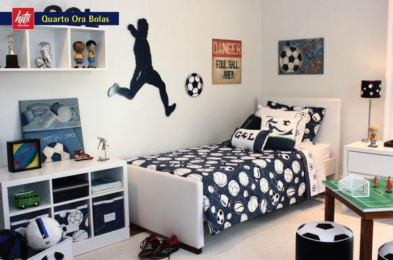 decoracao quarto infantil futebol 4