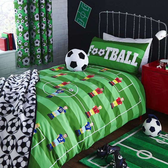 decoracao quarto infantil futebol 5