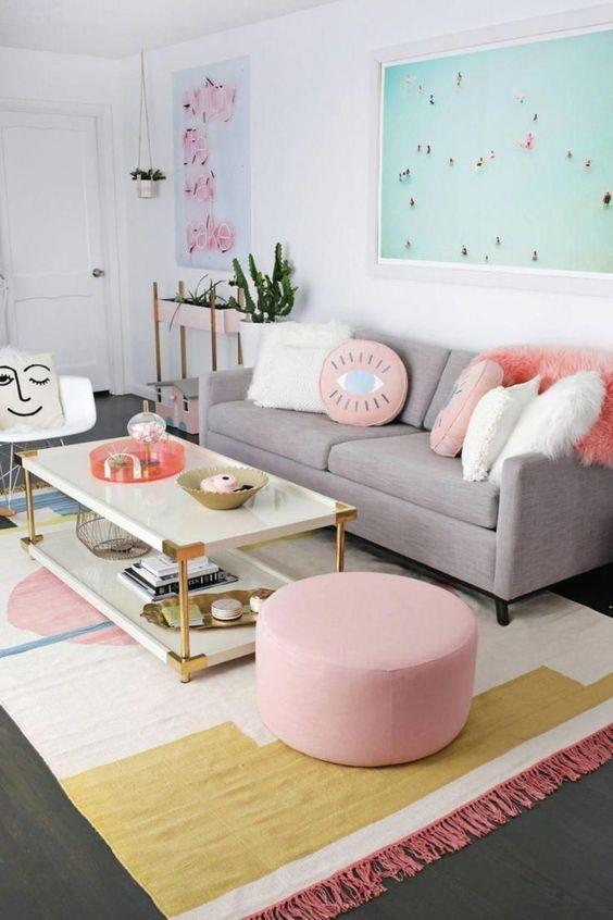decoracao sala apartamento