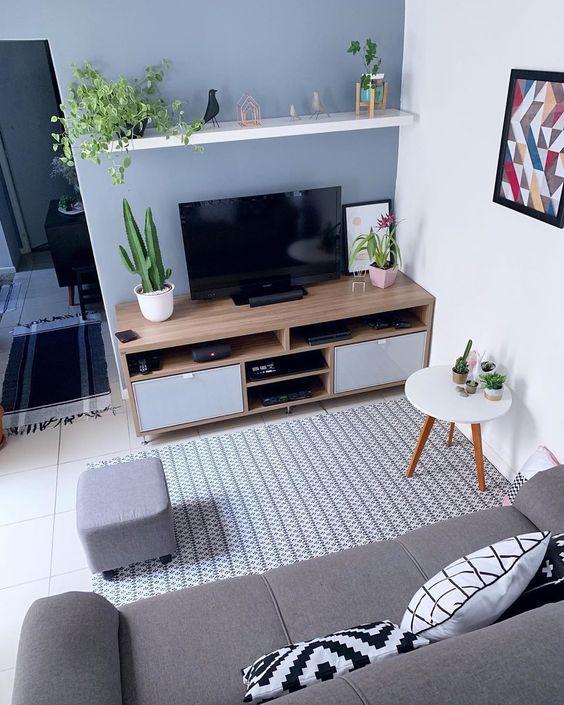 decoracao sala pequena 6