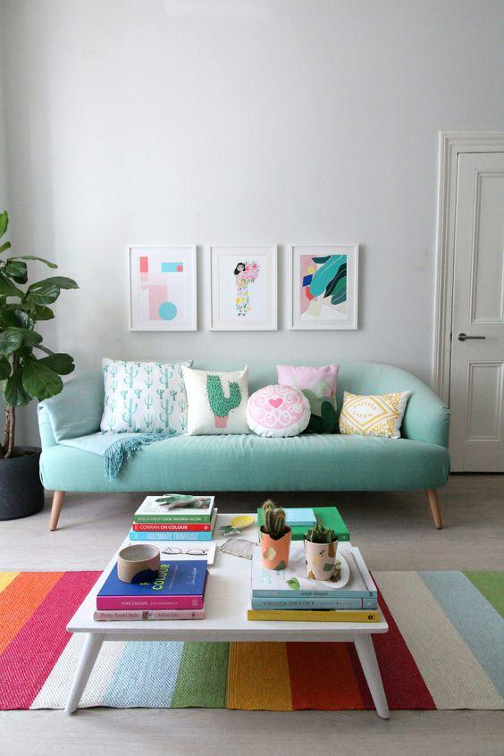 decoracao sala simples 1