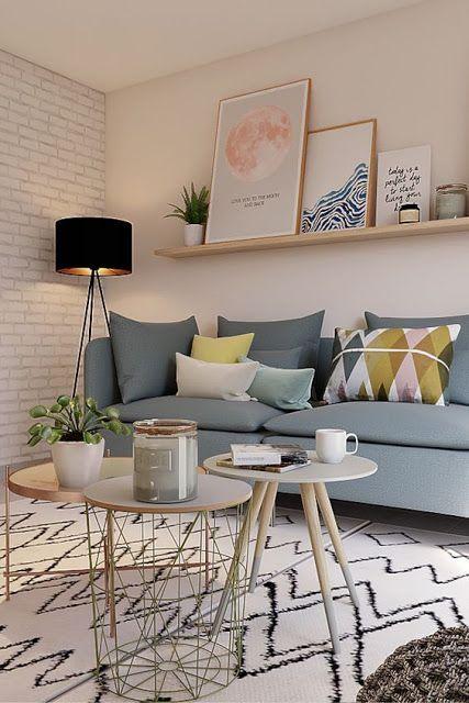 decoracao sala simples