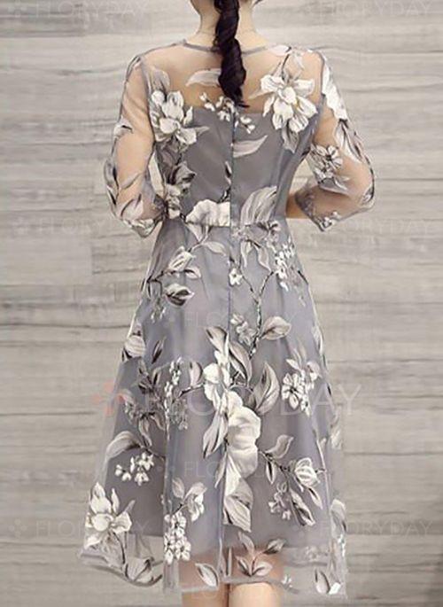 dicas modelos vestidos longuete 1