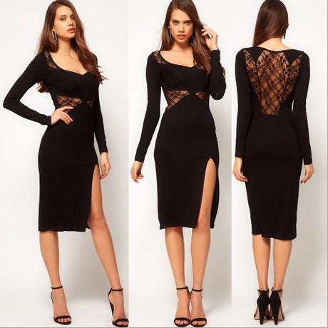 dicas modelos vestidos longuete 9