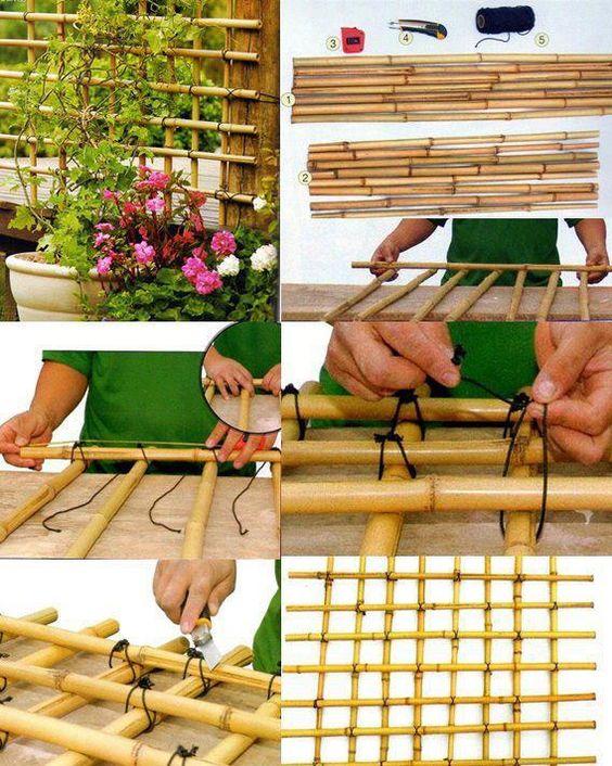 diy artesanato bambu 1