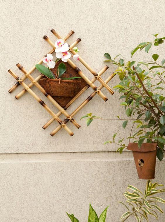 diy artesanato bambu