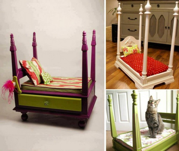 diy cama para animal original