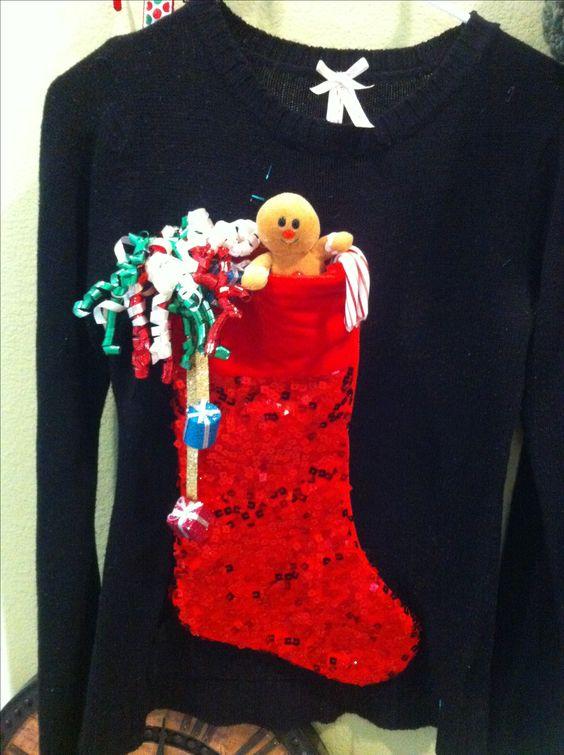 diy camisolas natal personalizadas 2