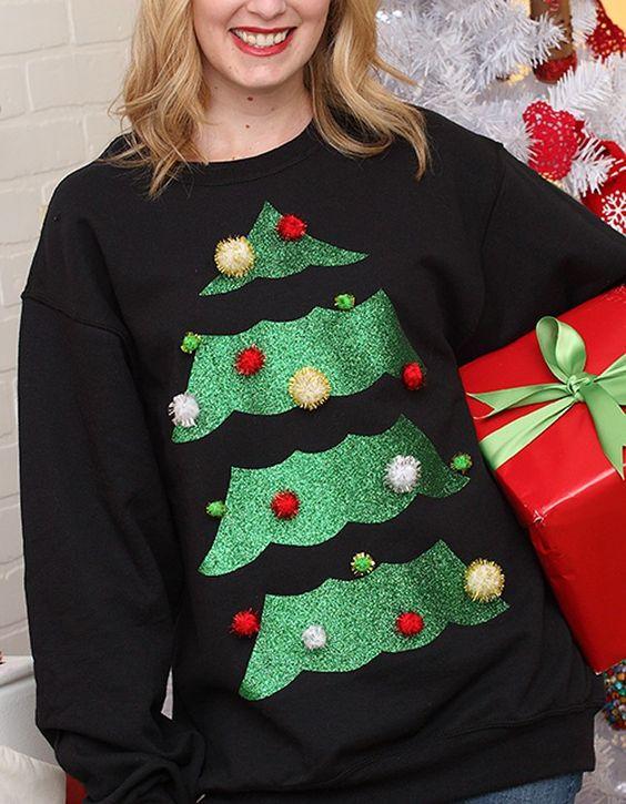 diy camisolas natal personalizadas 5