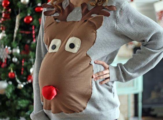 diy camisolas natal personalizadas 8