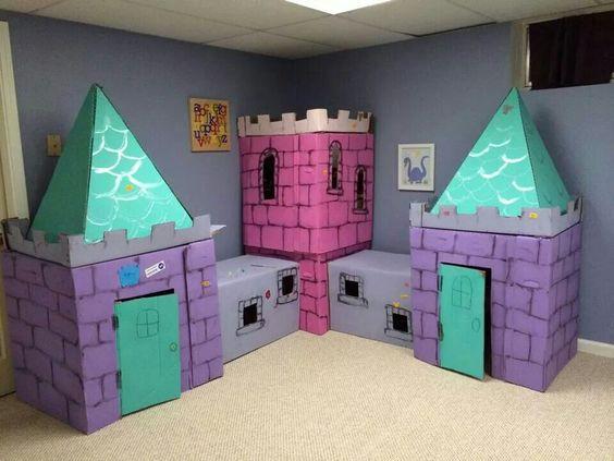 10 Ideias Para Construir Um Castelo De Brincar