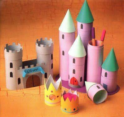 diy castelo brincar