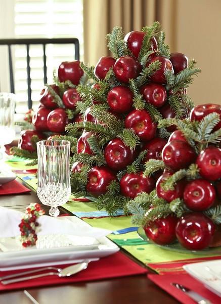 diy centro mesa natal 1