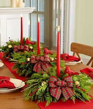 diy centro mesa natal 7
