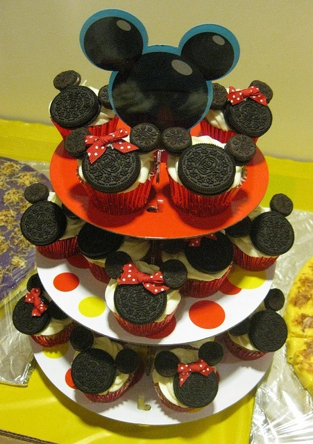 diy cupcakes minnie
