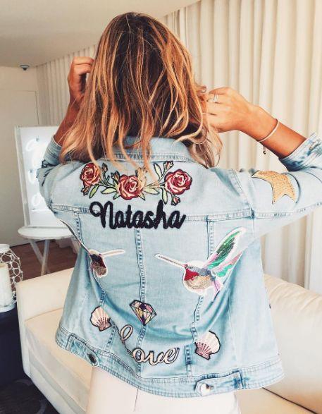 diy customizar jaqueta jean 2