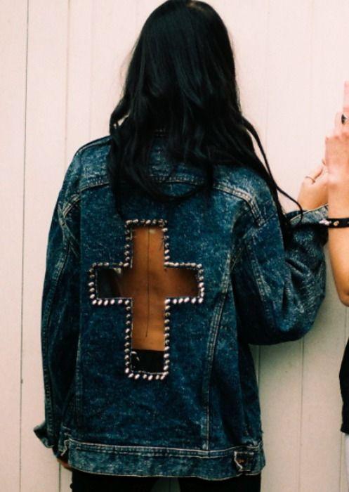 diy customizar jaqueta jean 5