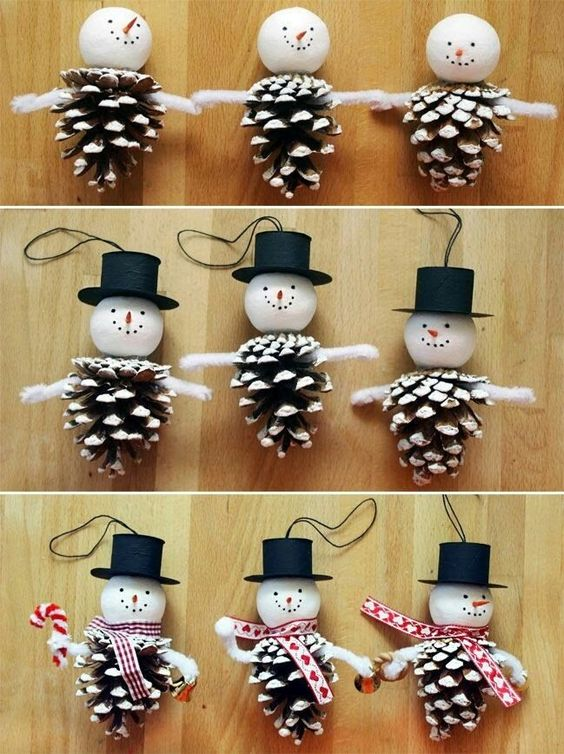diy decoracao arvore natal boneco neve