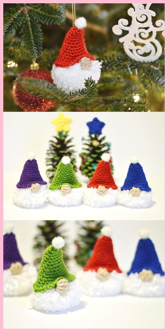 diy decoracao arvore natal croche